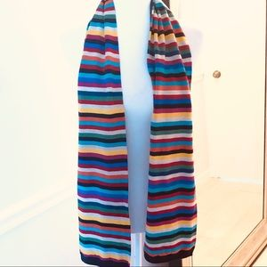 Talbots Scarf. Stripe winter ladies (c)